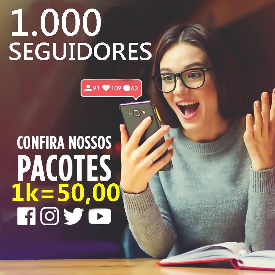 1000 Seguidores Instagram