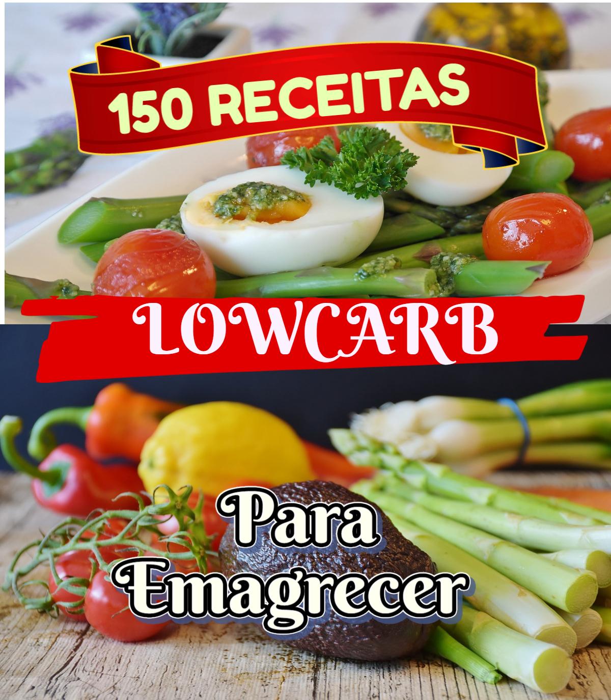 150 RECEITAS LOWCARB PARA