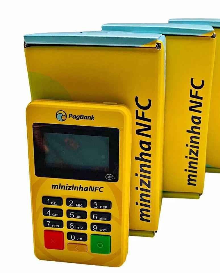 Minizinha NFC maquininha