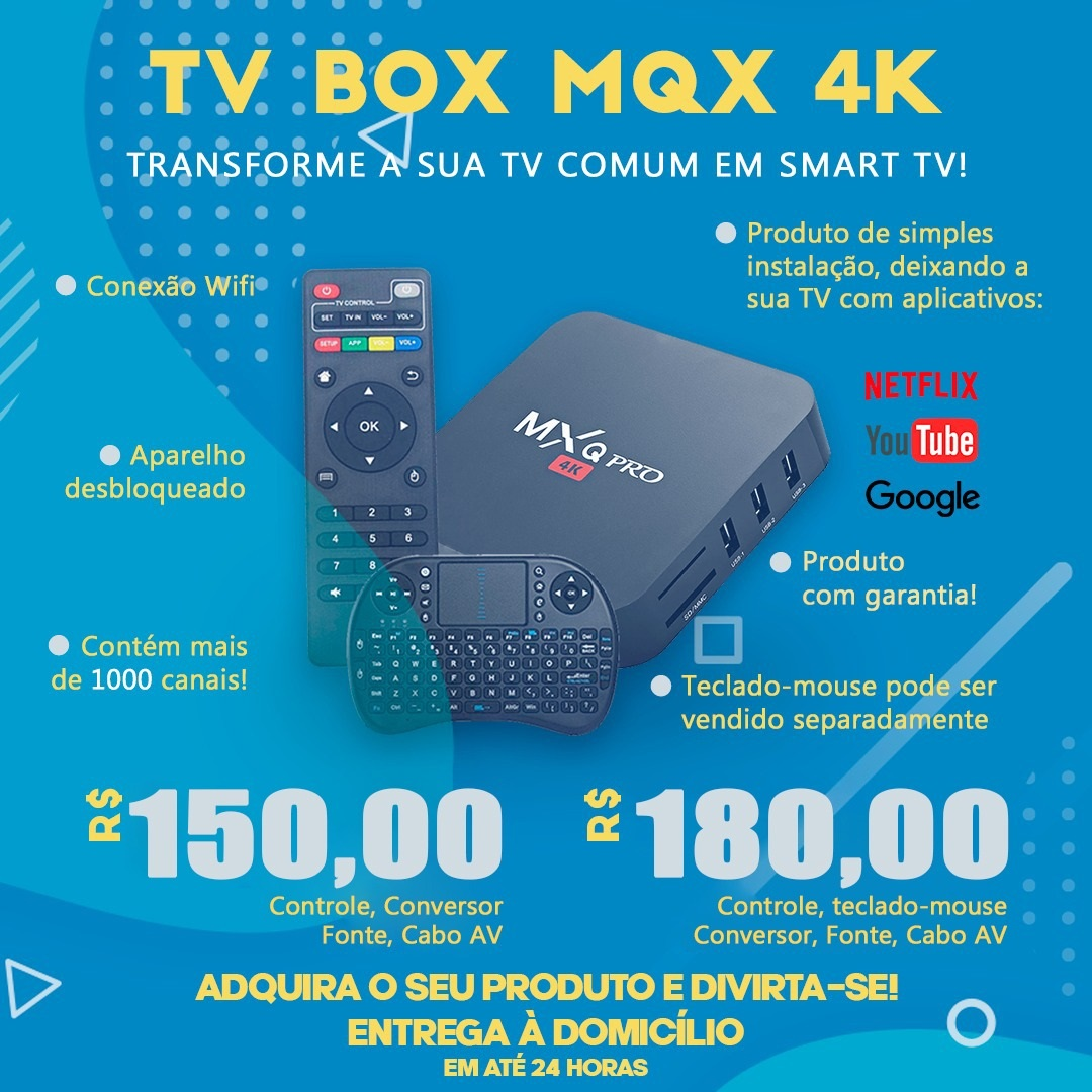 Tv box mxq pro 4k origin