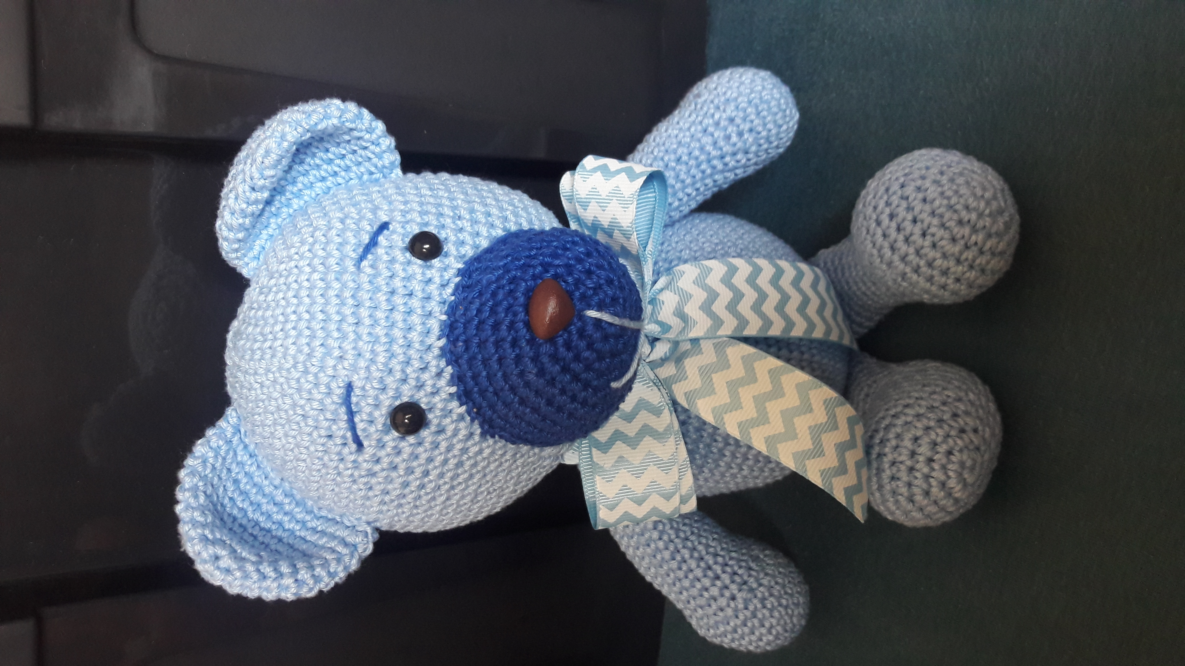 Amigurumi boneco em croch