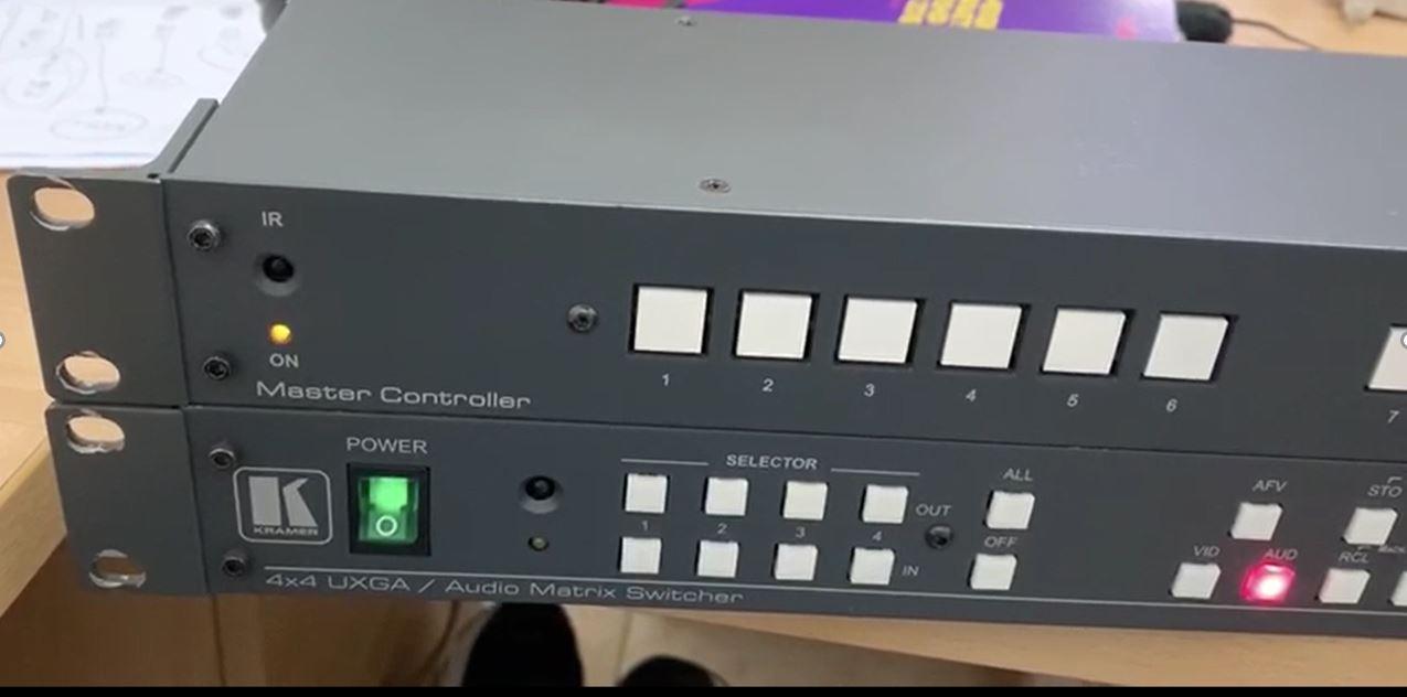Audio Matrix Switcher 4x4