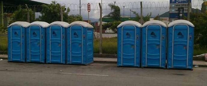 banheiros quimicos em San