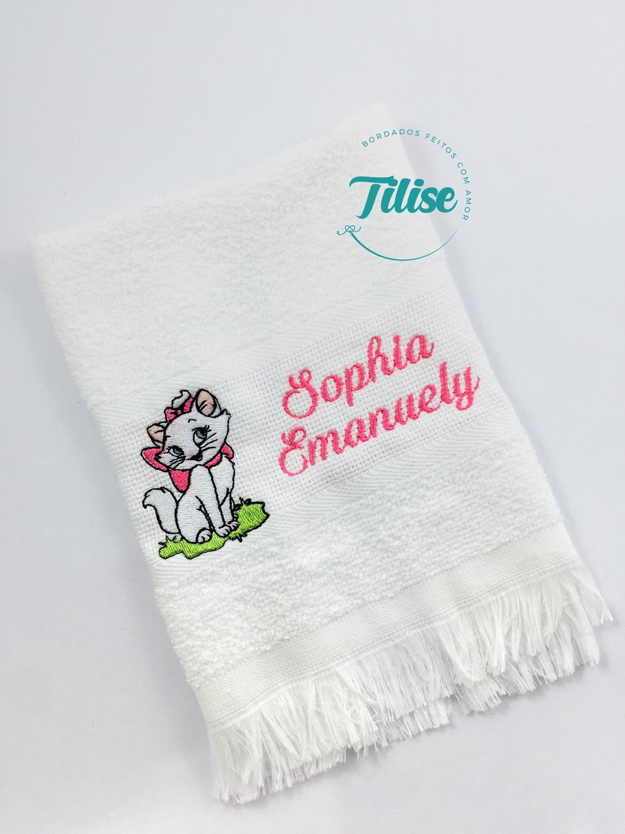 Bordados para toalhas ban