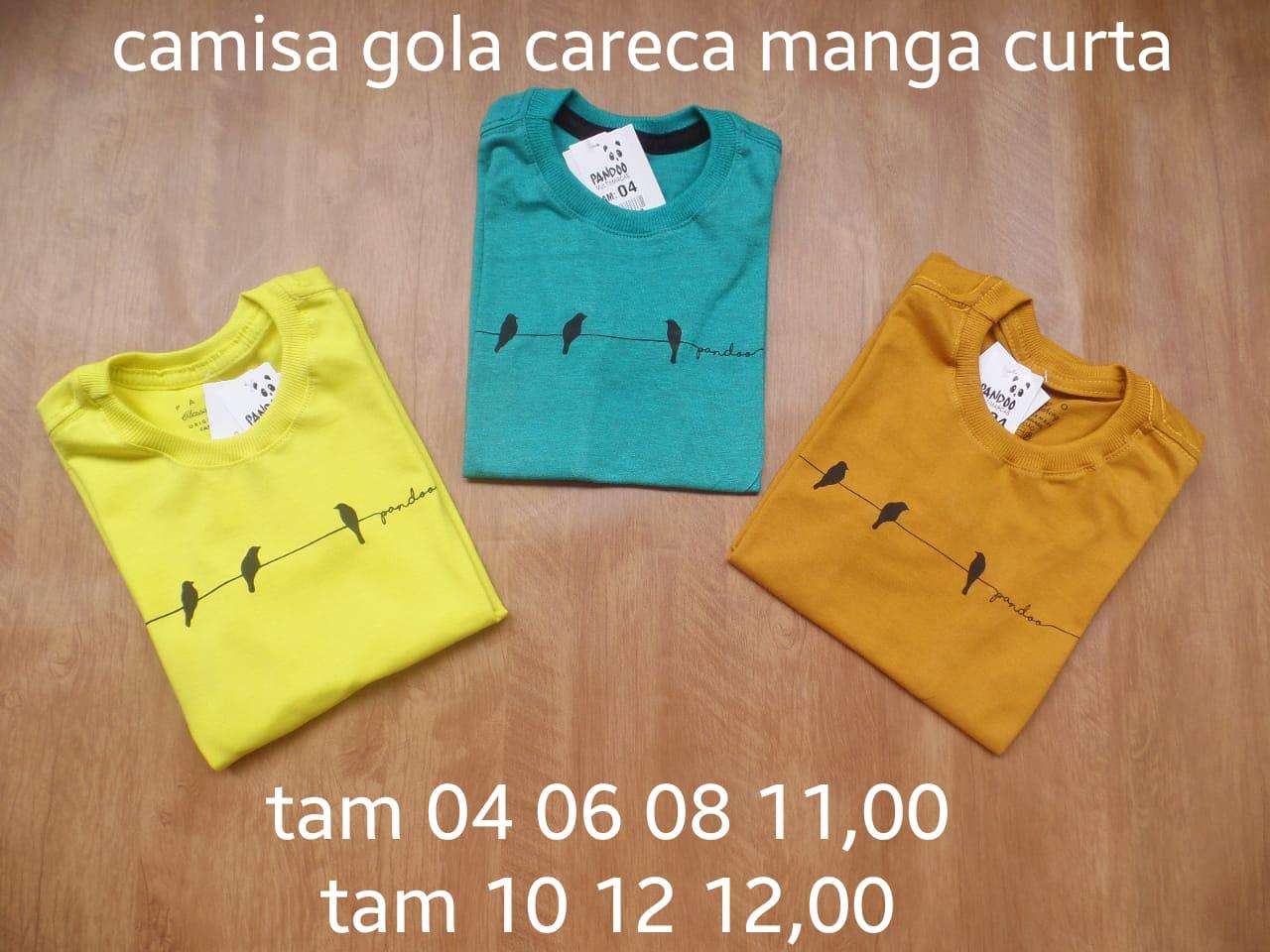 Camisas infantis direto d