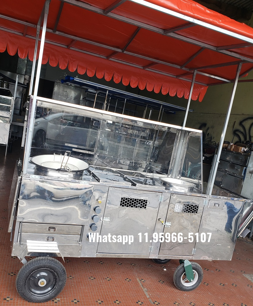 carrinho de acaraje