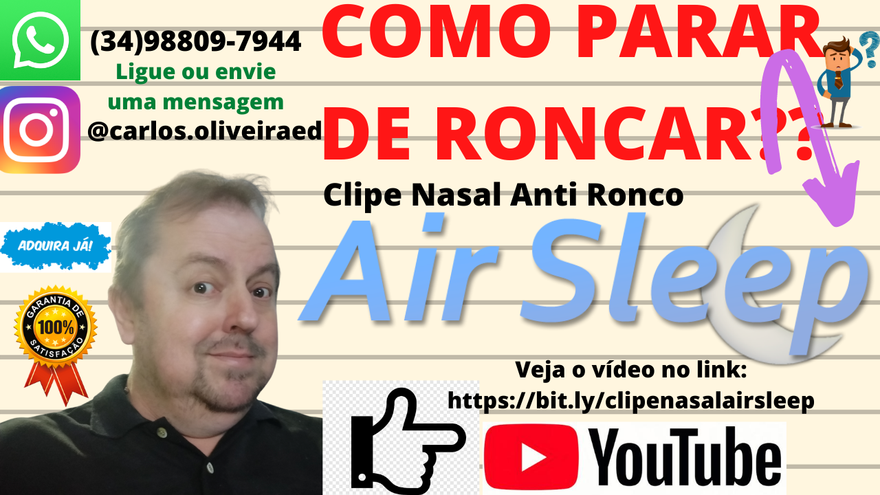 Clipe Nasal Anti Ronco Ai