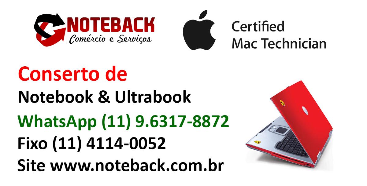 Conserto de Notebook leno