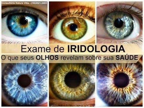 Consulta de Iridologia