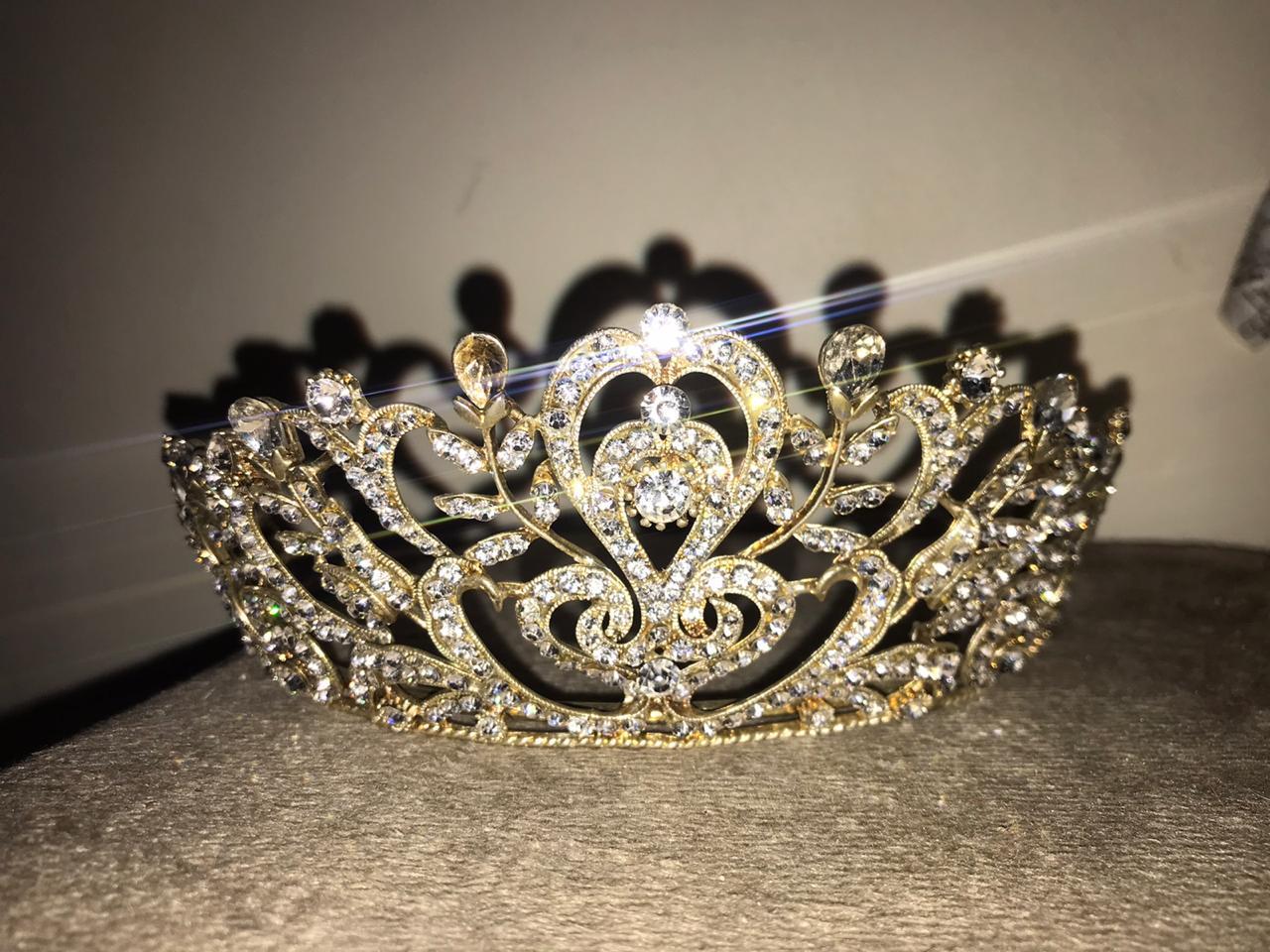 Coroa de Noiva com Pedras