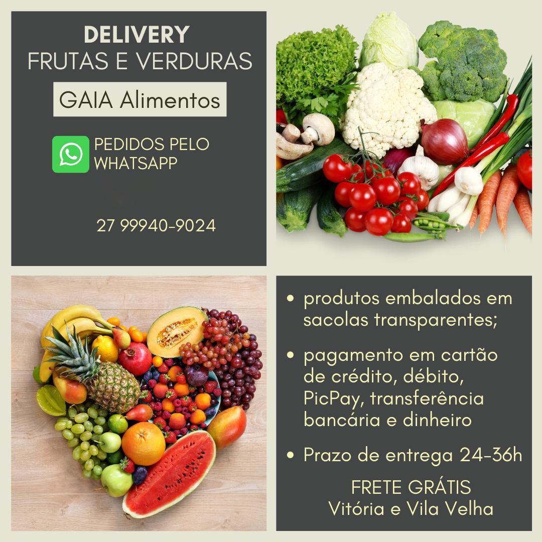 Delivery de frutas e verd