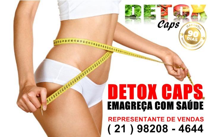 Detox Caps Emagrecendo co
