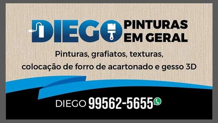 DIEGO PINTURAS EM GERAL