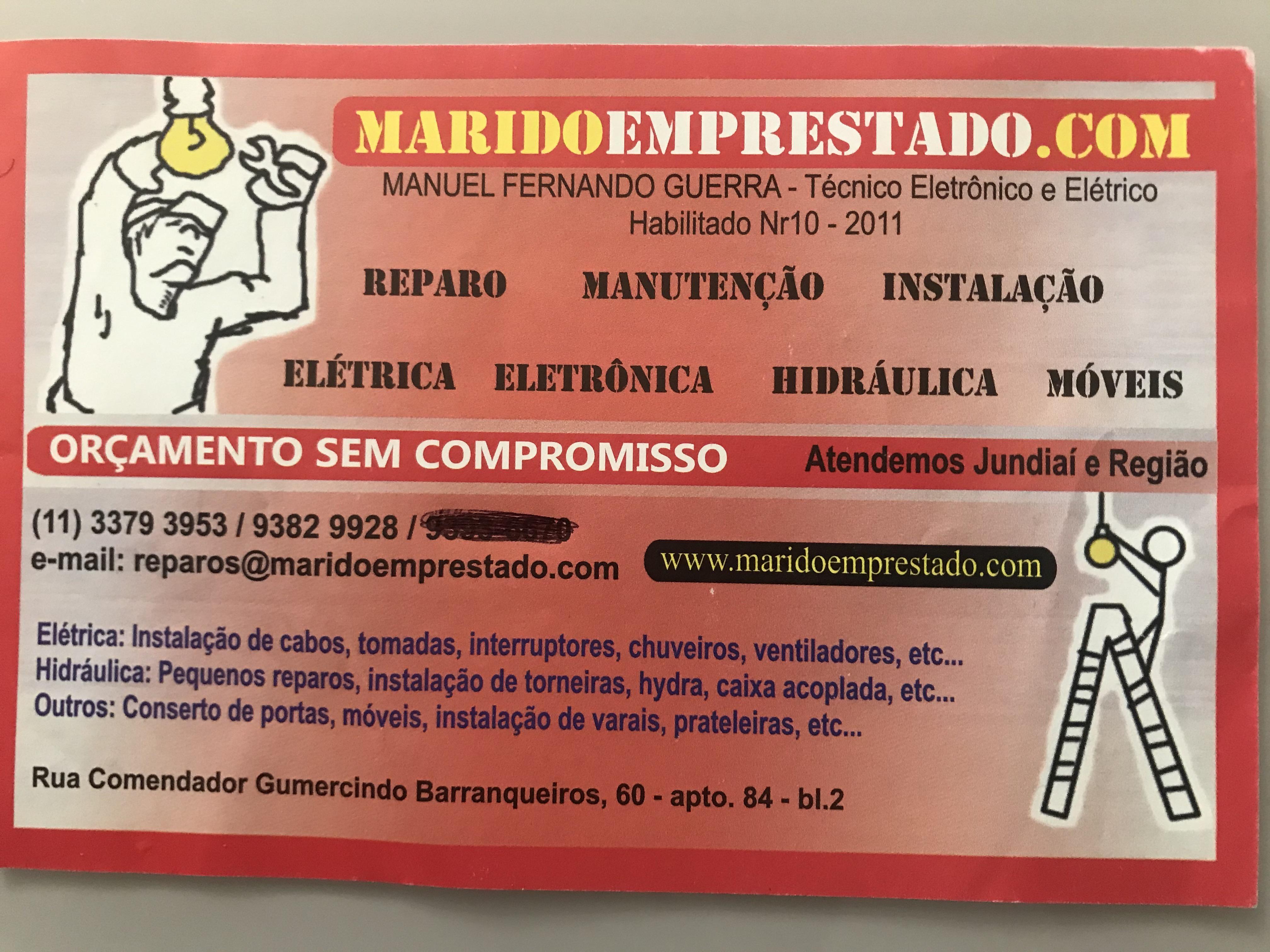 ELETRICISTA / MARIDO DE A