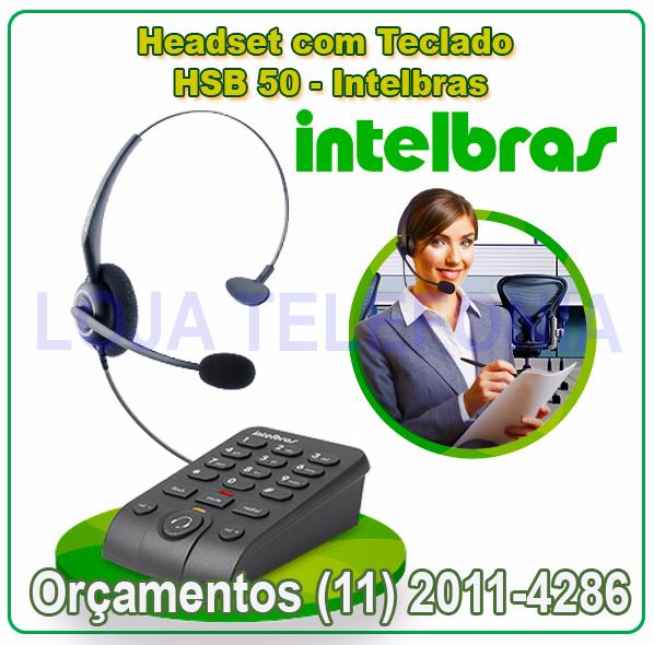 Headsets Intelbras- Fone