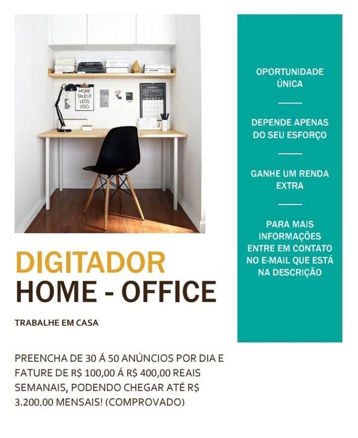Home Office Digitador Onl