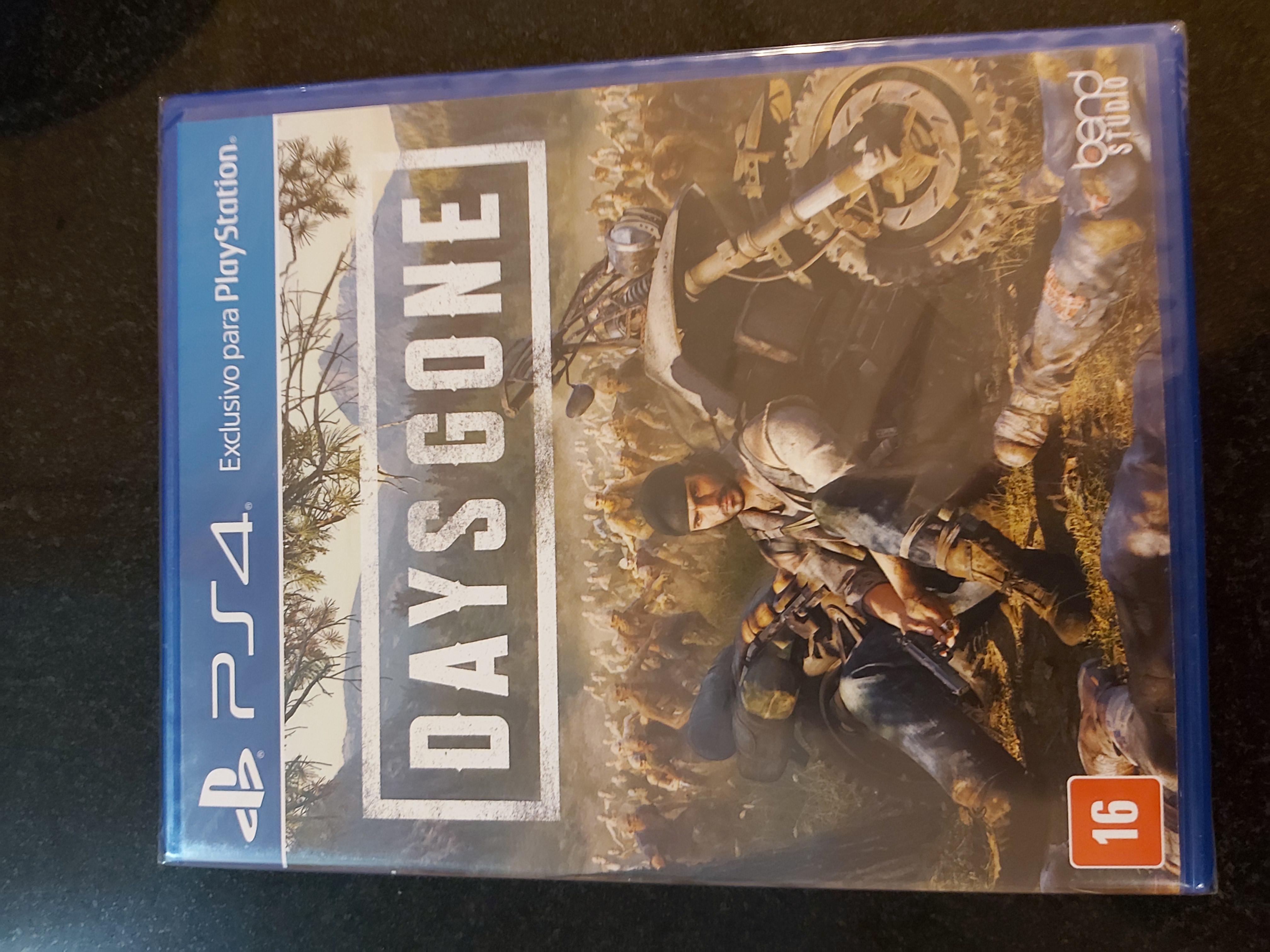 Jogos de PS4 - Days Gone