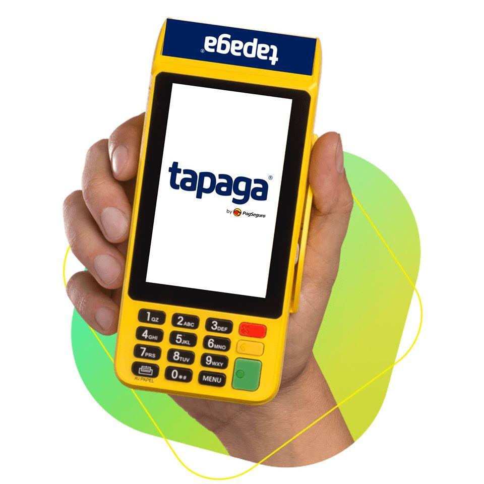 Máquina de cartão TaPaga