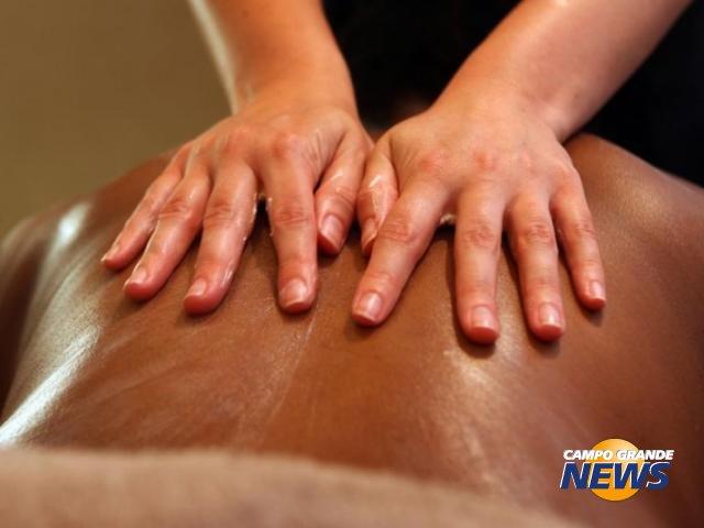 Massagem relaxante e tera