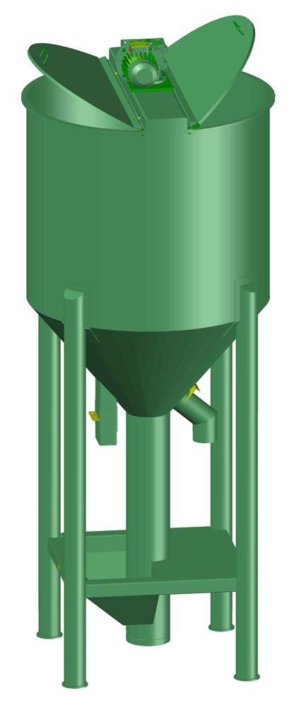 Misturador vertical. Apen