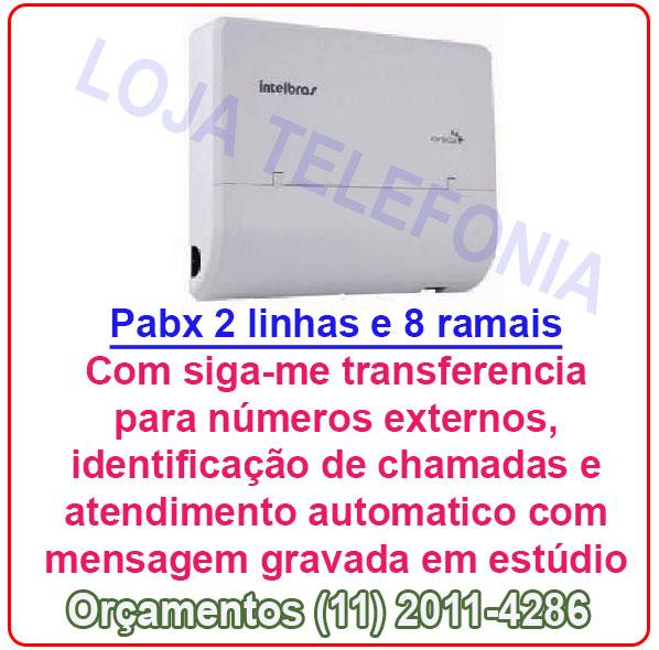 Pabx Intelbras Conecta Ma