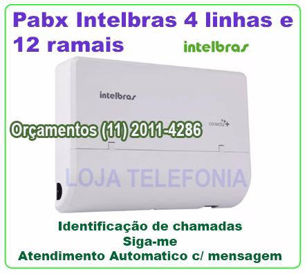 Pabx Modulare Mais Intelb