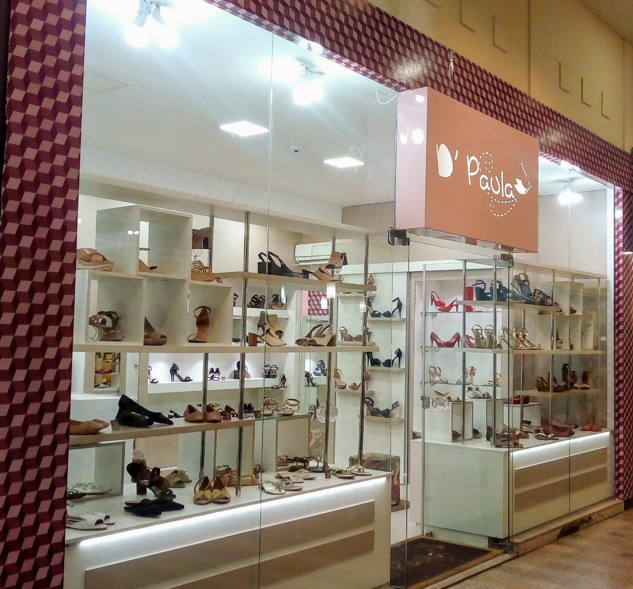 Passo loja de calçados fe