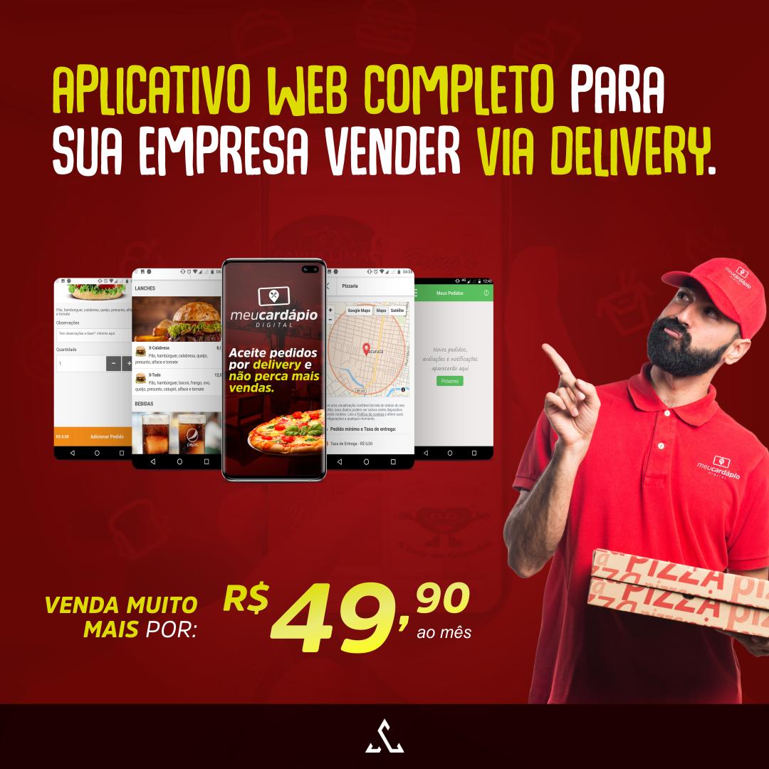 Receba Pedidos Delivery W