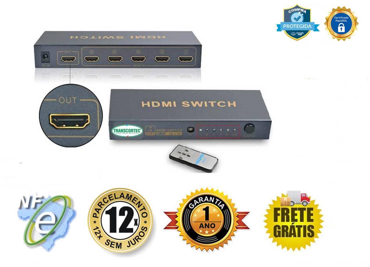 Switch Chaveador De Video