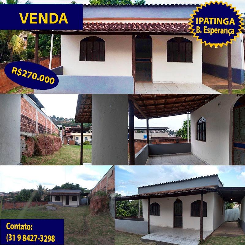 Vende se casa em Ipatinga